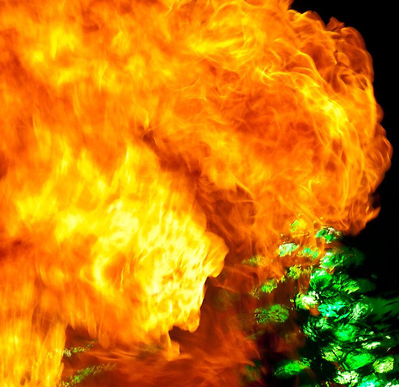 Wo entstand diese Flamme II