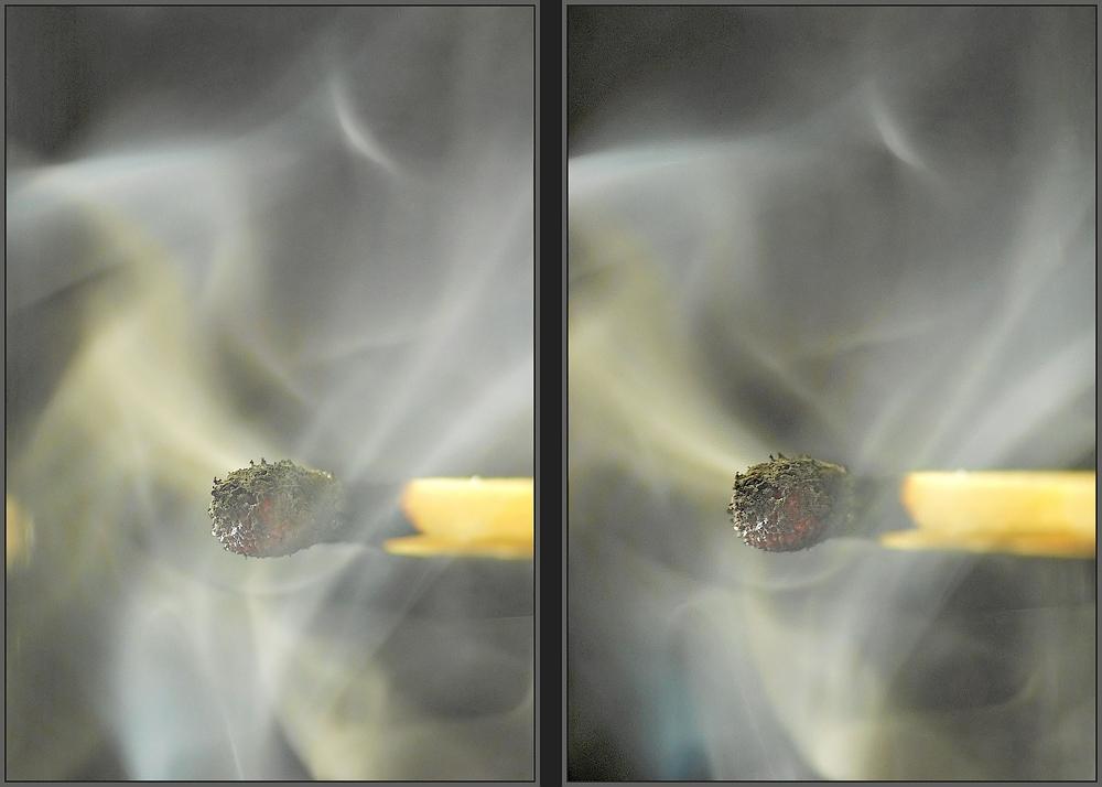 Wo Feuer ist ist auch Rauch ( 3D )