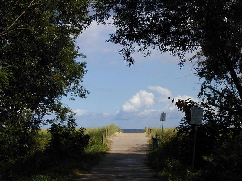 Wo geht es hier zum Strand?