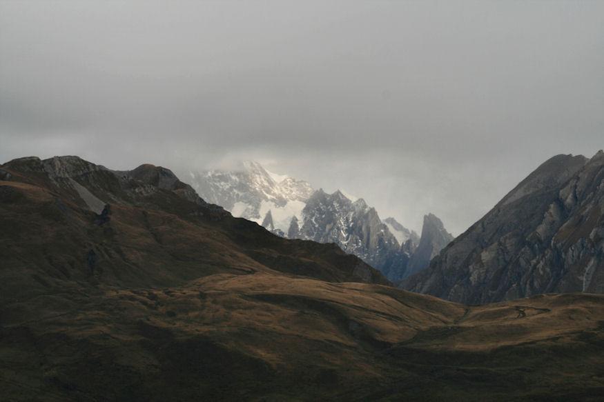Wo ist der Mont Blanc ?