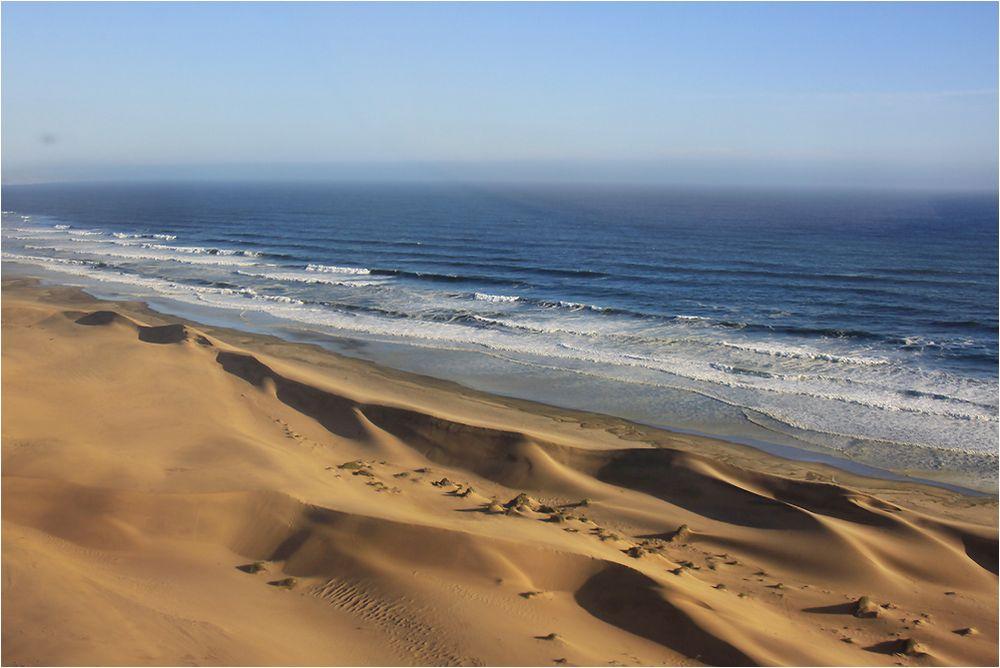 Wo Sand und Wasser sich begegnen