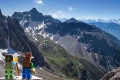 Wo sind die beiden Bergsteiger denn?