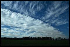 Wo Sonne und Wolken sich heute trafen...