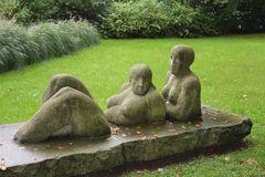 Wo wurde diese Skulptur aufgenommen? ? ? (Rätsel gelöst)