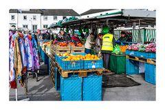 Wochenmarkt 4 Obst und Gemüse