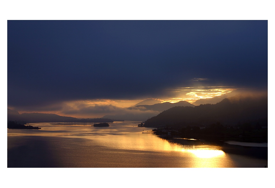 Wörther See - Sonnenaufgang