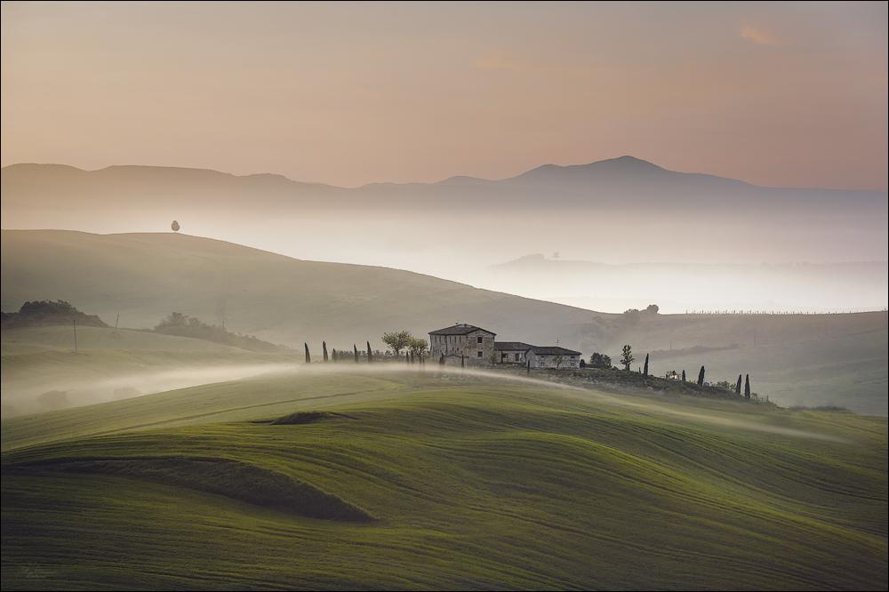 Wohin der Nebel fließt...