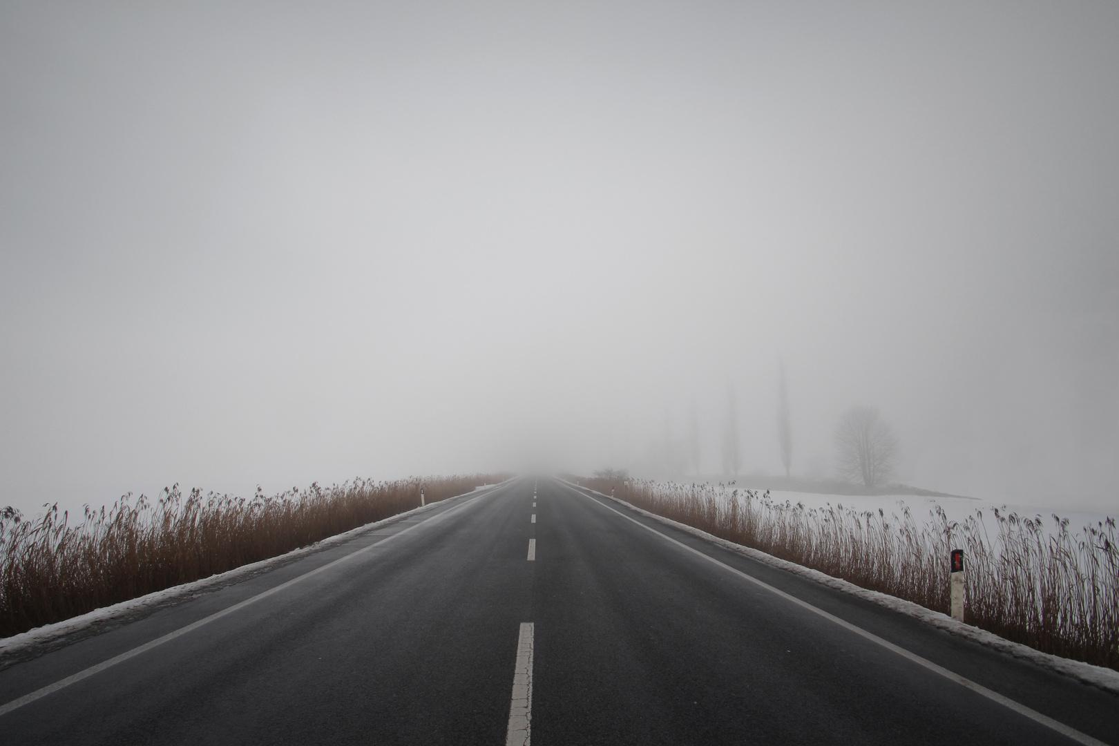 Wohin führt die Straße wohl?