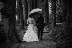 Wohl beschirmt in die Ehe