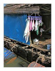 Wohnboot-Einblick