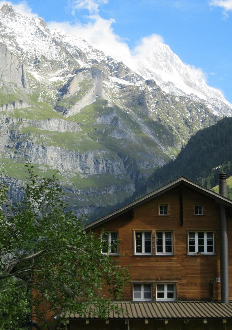 Wohnen am Berg