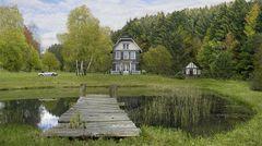 wohnen am Teich