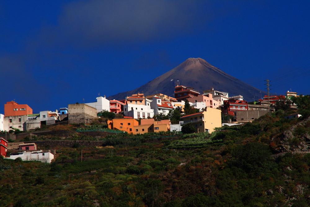 Wohnen am Vulkan (Teide)