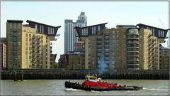 Wohnen an der Themse