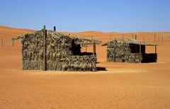 Wohnen in der Wüste Wahiba