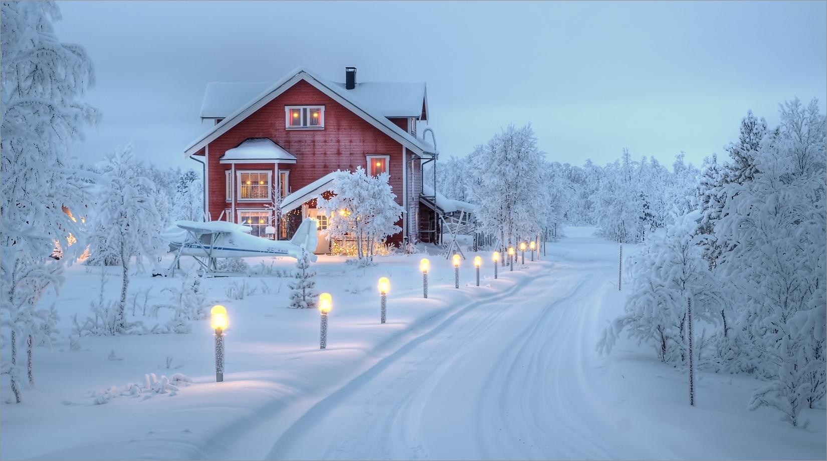 Wohnen in Lapland