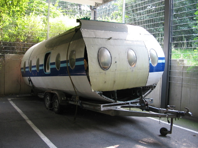 Wohnflugzeugwagen