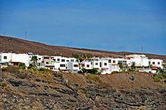 Wohnhäuser auf der Kanareninsel Fuerteventura