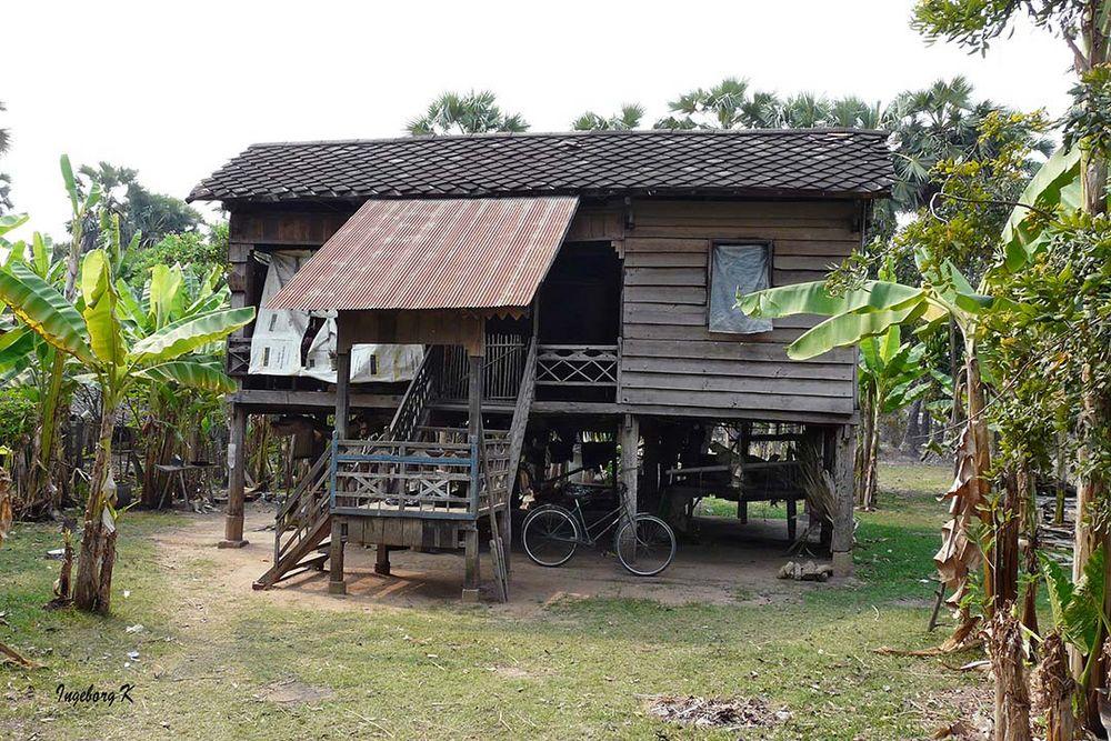 Wohnhaus in Angkor