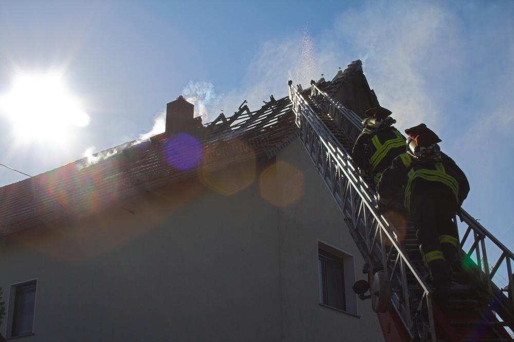 Wohnhausbrand - die schöne Seite