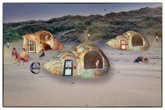 Wohnkultur am Strand