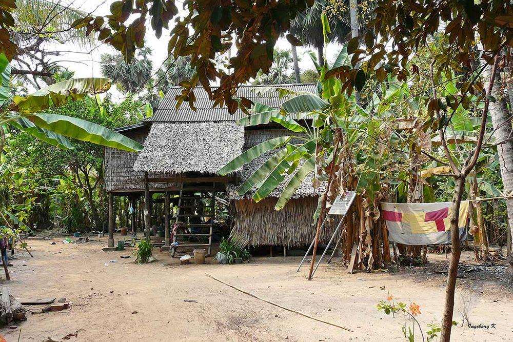 Wohnsiedlung in  Angkor