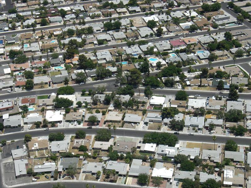 Wohnviertel in Las Vegas