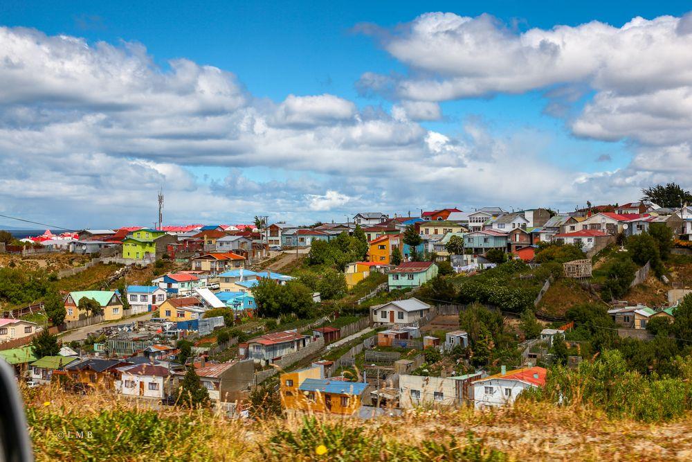 Wohnviertel in Punta Arenas