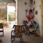 Wohnzimmer auf Kuba