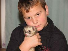 Wolfi und sein Freund Mikey
