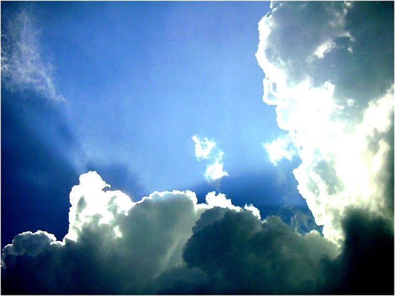 ...Wolken...