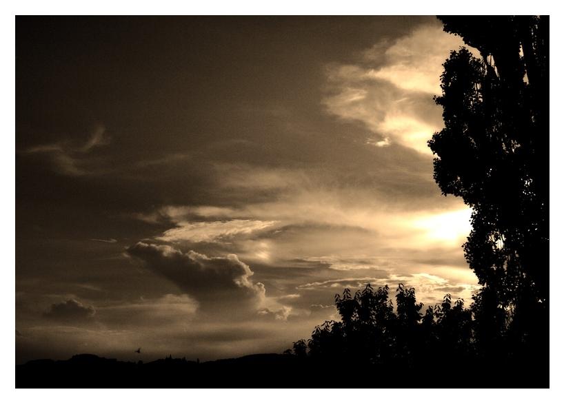 Wolken ....