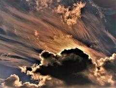 Wolken á la Gerhard Richter