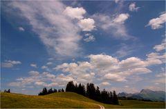 Wolken als Begleiter