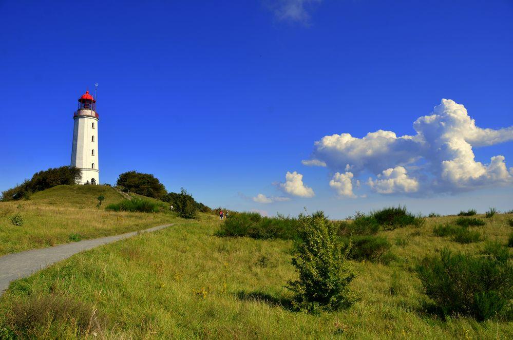 Wolken am Leuchtturm