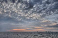 Wolken am Morgen