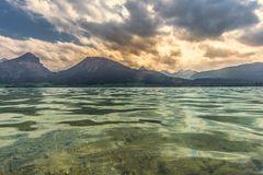 Wolken am Wolfgangsee