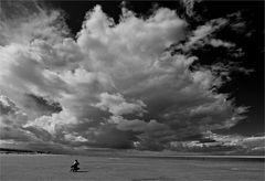 Wolken auf Langeoog
