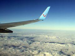 Wolken aus 10km Höhe auf dem Flug nach Gran Canaria #2