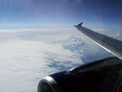 Wolken aus 11km Höhe #1