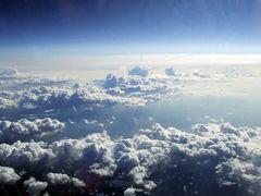 Wolken aus 11km Höhe #2