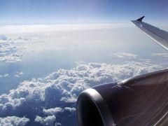Wolken aus 11km Höhe #3