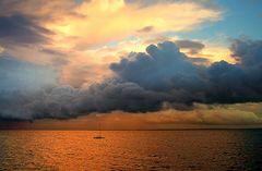 Wolken-Gewitter