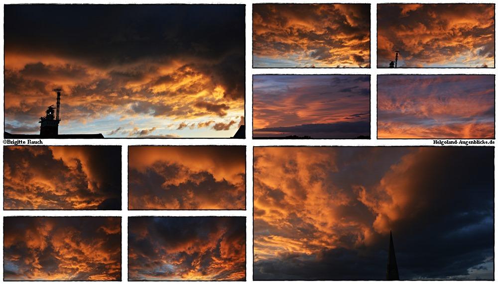 Wolken gucken