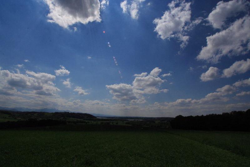 Wolken im Chiemgau