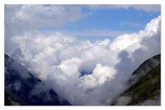 Wolken im Habachtal