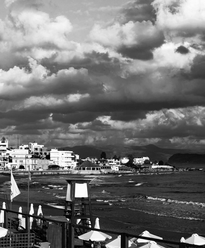 Wolken in greece