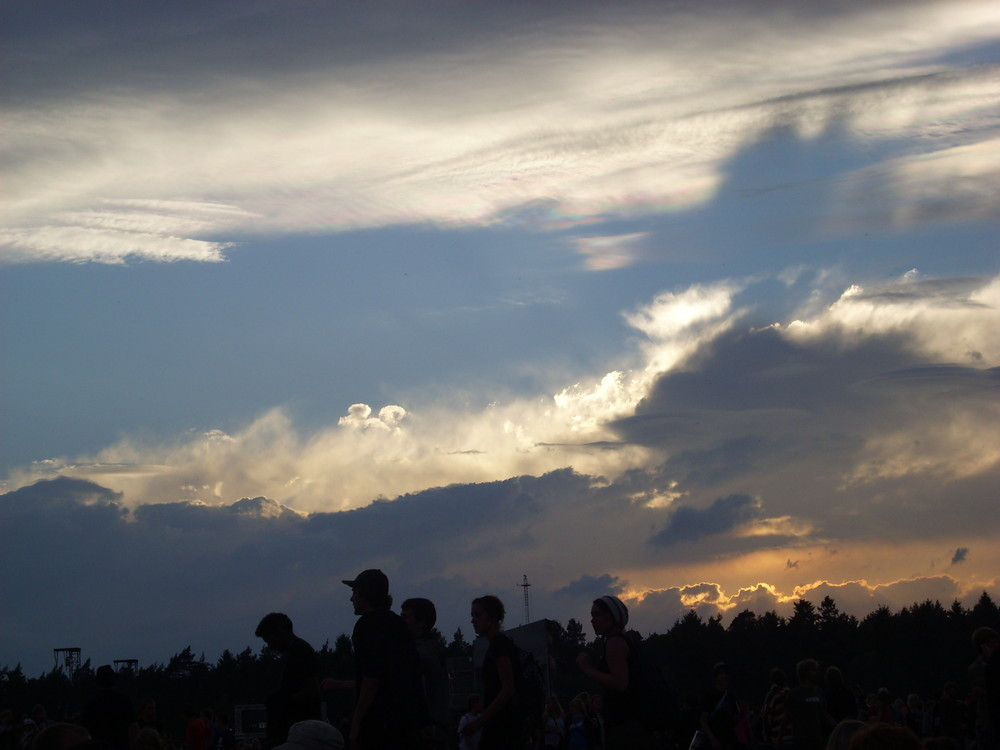 Wolken in Scheeßel