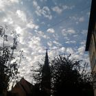 ..Wolken können so schön sein..