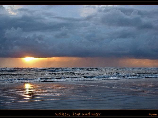 wolken, licht und noch meer